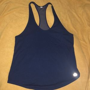 Alo navy blue athletic tank